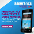 Assurance Wireless - Free Gov't Smart Phone with Data, Minutes and Texts
