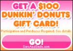 $100 Dunkin' Donuts Gift Card
