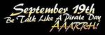 Happy Talk Like a Pirate Day from Pumpkins Freebies