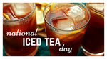 National Iced Tea Day from Pumpkins Freebies