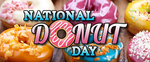 Happy National Donut Day from Pumpkins Freebies