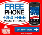 Safelink - Free Gov't Smart Phone with Data, Minutes and Texts