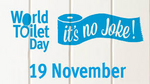 Happy World Toilet Day from Pumpkins Freebies